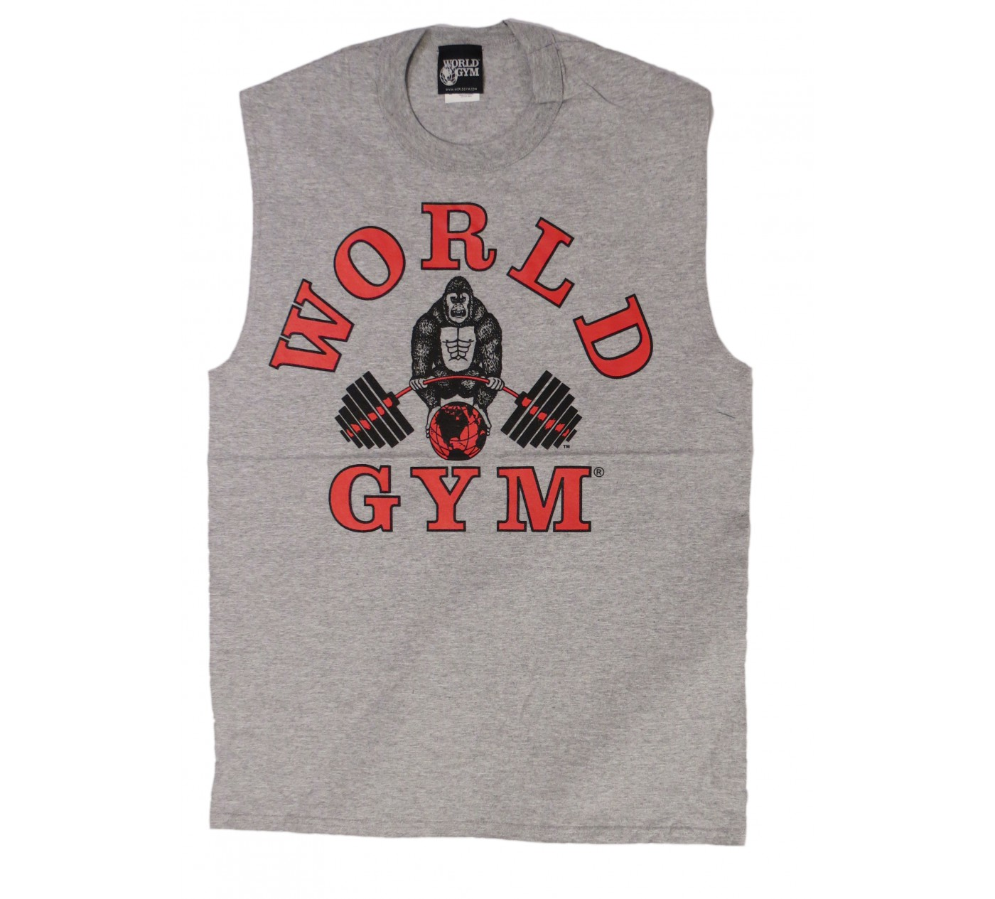 W190 World Gym t-shirt sans manche de muscle