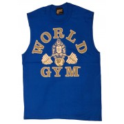 W190 World Gym sleeveless muscle shirt