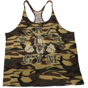 W300 World Gym Stringer Tank Top Digital Camo-Camouflage