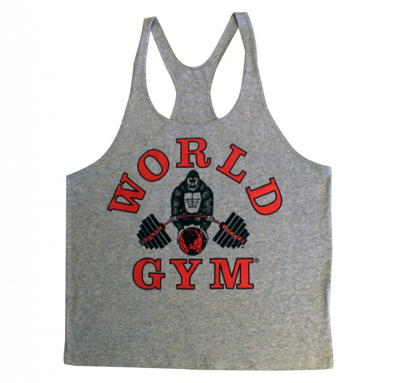 a78a9cd9c5146 World Gym Stringer Tank Top - Tank Top