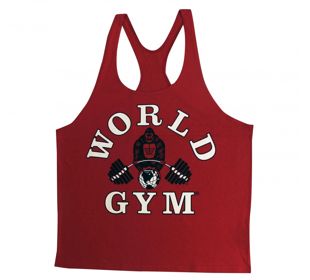 740bbd79c5a1d Mens Y-Back String Tank  World Gym Stringer Tank Top - Tank Top ...