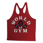 W300 World Gym canotta stringer