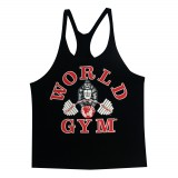 W300 World Gym Stringer Singlet