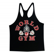 W300 World Gym Stringer Tank Top