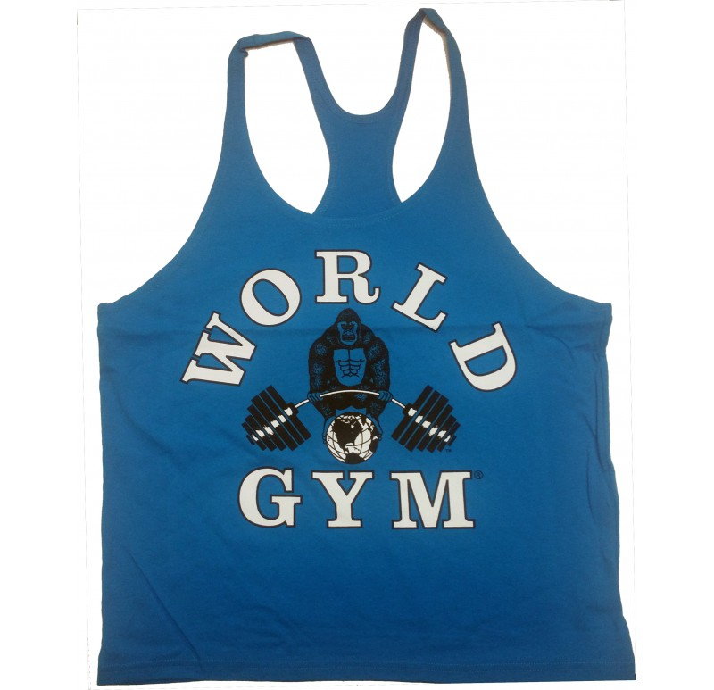 d5fb01ded0958e World Gym Stringer Tank Top - Tank Top