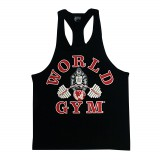 W310 World Gym Workout Tank Top Racerback