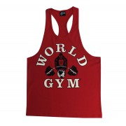 CLOSEOUT, BLOWOUT - W310 World Gym Workout Tank Top Racerback
