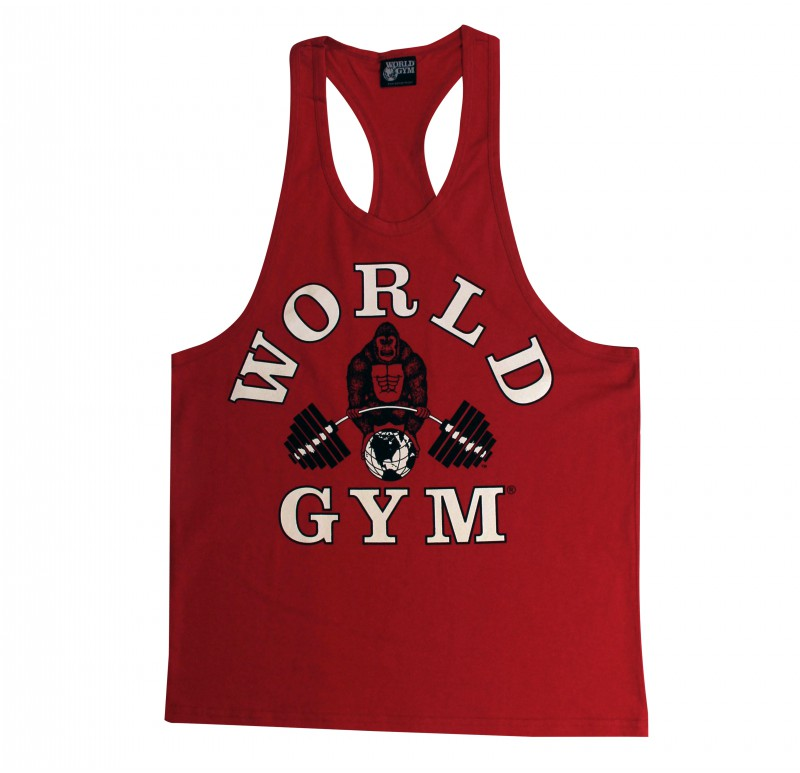 World Gym Workout Tank Top Racerback