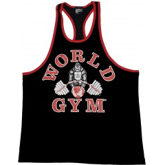 World Gym Workout Tank Top Ringer Racerback