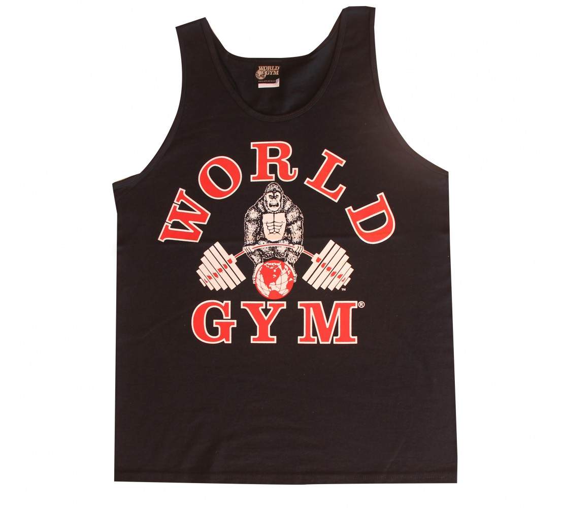 W320 World gym mens linne