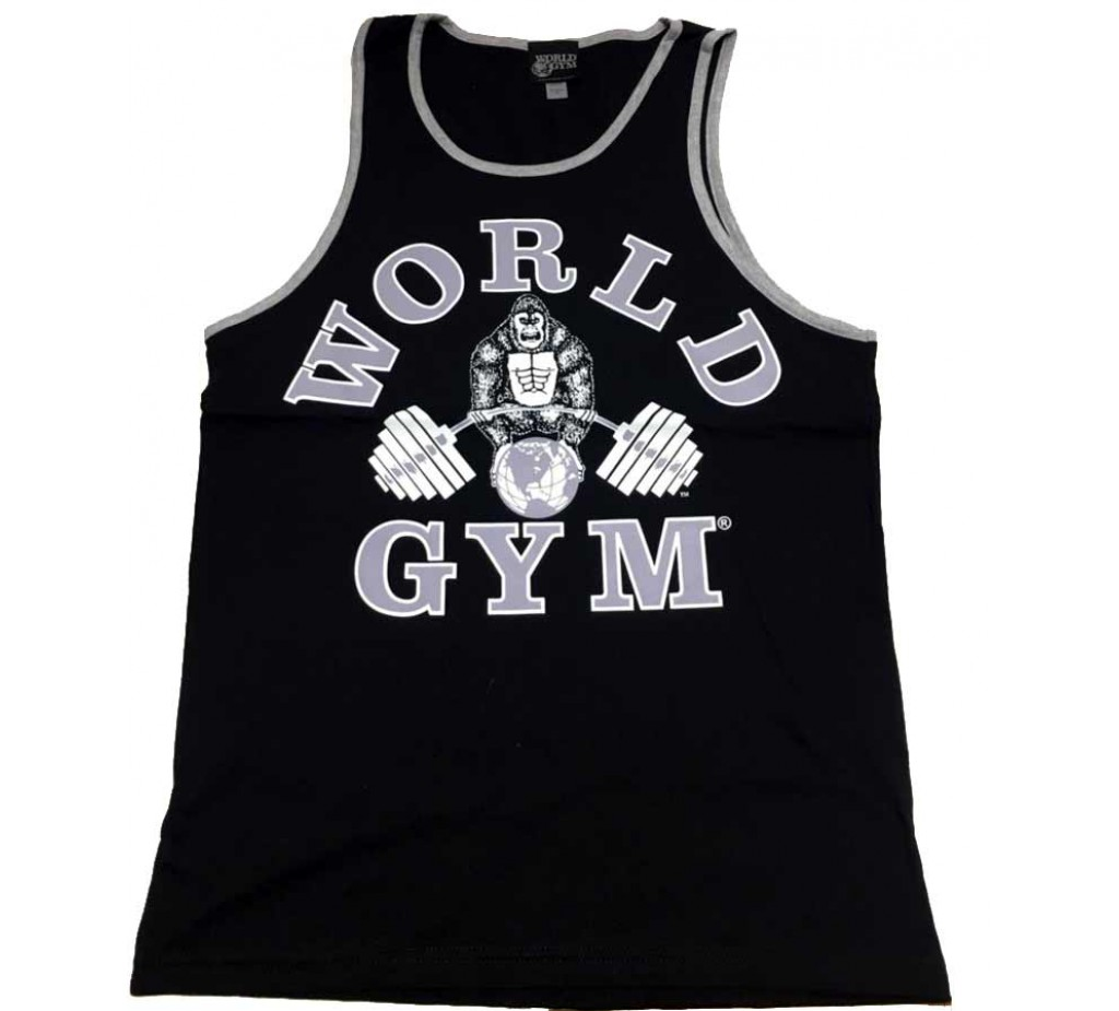 World Gym New Tank top