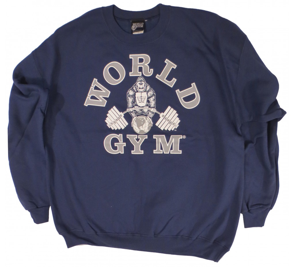 W800 World Gym Sweatshirt