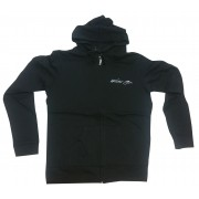 Zip Muscle Hoodie Signature World gym logo