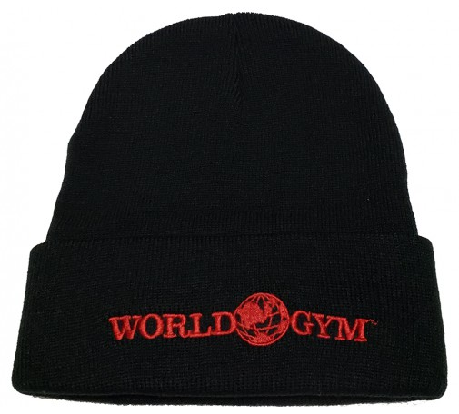World Gym Gorilla Logo Beanie skull cap