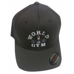 World Gym Logo Baseball hat