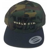 World Gym Logo baseball sapka CAMO