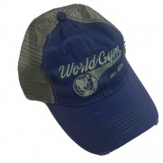 Logo World Gym Logo Trucker Cap