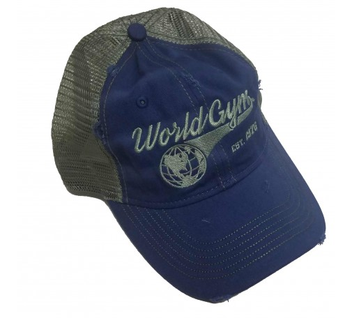 World Gym Logo Trucker Cap