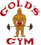 Golds gym logo clothing